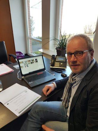 Kreisvorsitzender Wilhelm Hellmanns führte zwei digitale Informationsveranstaltungen durch. Foto: privat