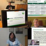 nkelhag (oben l.), Monika Tombers (l.), Dr. Bernd Lüttgens (oben r.) und Ulrich Timmer (r.) standen den Landwirten Rede und Antwort. Foto: Sarah Ötztürk